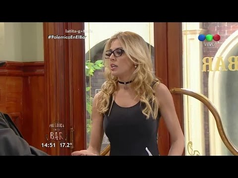 Maria Sol Perez 2017|Virginia Gallardo - Polemica en el Bar 11/05/17 thumbnail