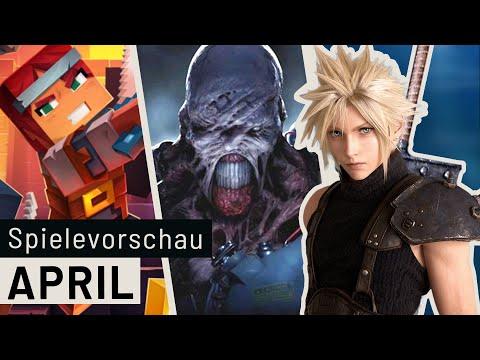 Neue Spiele im April: Final Fantasy VII Remake, Resident Evil 3, Minecraft Dungeons und viele mehr
