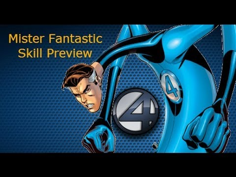 Marvel Heroes: Mr. Fantastic Skill Preview