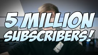 5 MILLION SUBSCRIBERS | TheDiamondMinecart