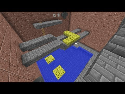 Water Puzzle in Minecraft
