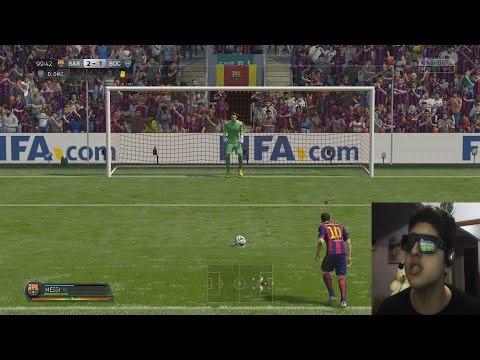 Fifa 2015 gameplay em português (Barcelona vs Boca Juniors)