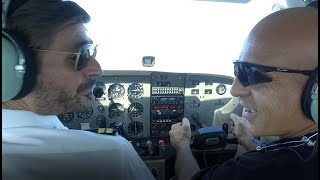 CESSNA 172 IONIAN AVIATION - Dangerous Flight By Livanas Motorsports !!!