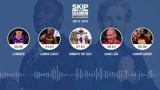 UNDISPUTED Audio Podcast (7.5.18) with Skip Bayless and Shannon Sharpe   UNDISPUTED