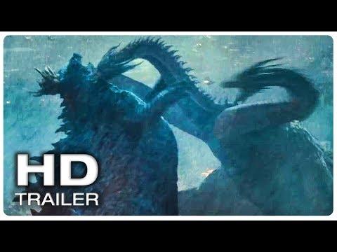 GODZILLA 2 Final Trailer (NEW 2019) Godzilla King Of The Monsters Movie HD