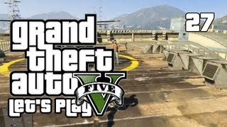 GTA V - Let's Play/Walkthrough - Mission 29: Mr. Richards - #27 (GTA 5 Gameplay)