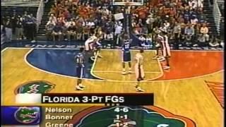 01/29/2002:  #11 Kentucky Wildcats at #6 Florida Gators