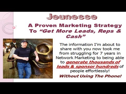 Jeunesse Global   How To Get More Leads &amp  Reps Fast
