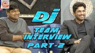 Duvvada Jagannadham Movie Team Interview Part 2 || Allu Arjun, Pooja Hegde, Harish Shankar