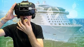 High Tech Concept Ocean Liner - HOLY SHIP!
