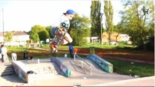 Skateboarder - Schaeffer McLean Fun Day Out Skateboarding in Bristol with Ben Steer