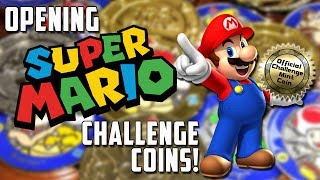 Opening packs of Super Mario Challenge coins!