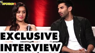 Exclusive Interview of Shraddha Kapoor and Aditya Roy Kapur for 'Ok Jaanu'  | SpotboyE