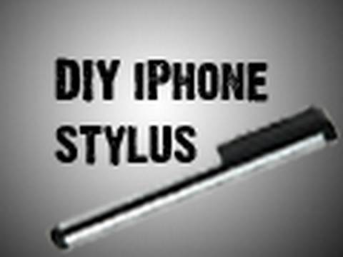 DIY iPhone Stylus