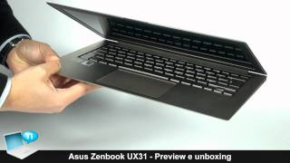 Ultrabook Asus Zenbook UX31 - Preview e unboxing (ITA)