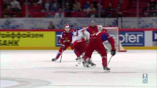 Russia - Czech Republic Highlights, 13th May, game 44