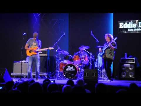 Greg Howe, Stu Hamm and Dennis Chambers drum solo - Eddie Lang Jazz festival 2011