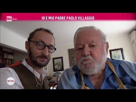 Io e mio padre Paolo Villaggio - Nemo - Nessuno Escluso 02/03/2017
