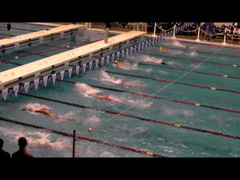 PAC 12 2013 400 IM Mens Swimming