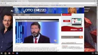 video Consiglio di amministrazione assicurazioni di Roma. le dichiarazioni del sindaco a otto e mezzo del 4 dicembre 2014.