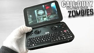 WORLDS SMALLEST GAMING LAPTOP! Unboxing GPD Win 10 + Black Ops Zombies Gameplay