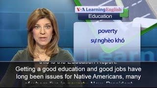 Anh ngữ đặc biệt: Native American College Students