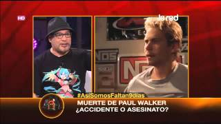 SALFATE | Muerte De Paul Walker ¿Accidente O Asesinato?_2 - 2015-10-23