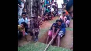 গ্রাম বাংলার পুরোনো খেলা কাসি টান কাপাসিয়া গাজীপুর