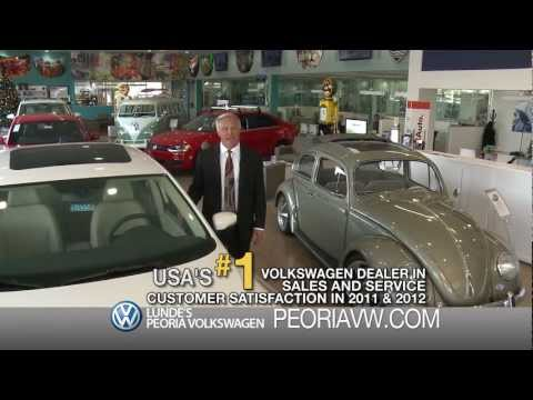 Why Do Business With Us? Lunde's Peoria Volkswagen Owner Dennis Lunde located in Phoenix AZ Market