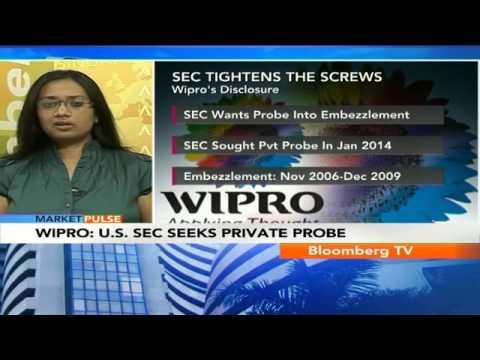 Market Pulse- Wipro: U.S. SEC Seeks Private Probe