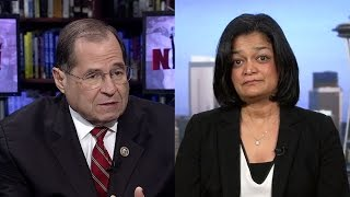 Reps. Jerrold Nadler, Pramila Jayapal Join Airport Protests to Free People Detained Under Muslim Ban