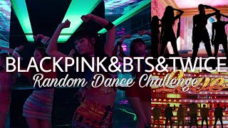 KPOP RANDOM DANCE CHALLENGE | BLACKPINK&BTS&TWICE  VERSION