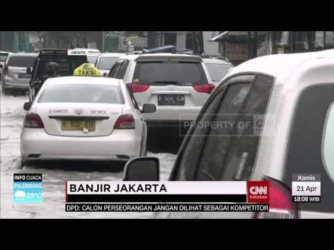 Banjir Jakarta: Hek, Kramat Jati, Taman Mini, Kebon Jeruk, dan Patra Duri Kepa