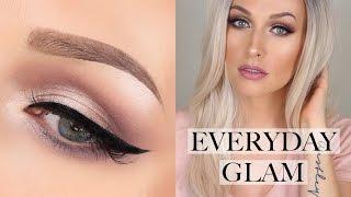 Easy Everyday Glam Makeup Tutorial