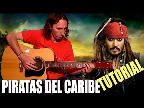 Como Tocar Piratas Del Caribe En Guitarra Acústica: Tutorial Completo ...