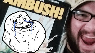 "AMBUSH!: Solitaire Board Game - ""Forever Alone"" in a box"