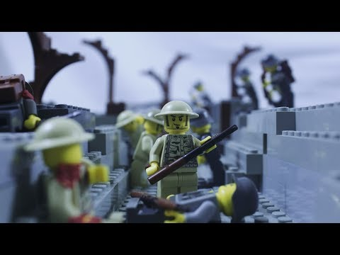 Lego WW1 - The Fourth Battle of Ypres - Battlefield 1 Stop Motion  - World War One Animation 4K