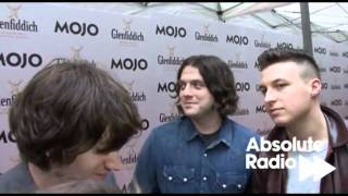 Arctic Monkeys interview with Absolute Radio at the Mojo Awards 2011