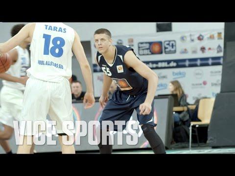 Meet the 17-year-old German Climbing NBA Draft Boards