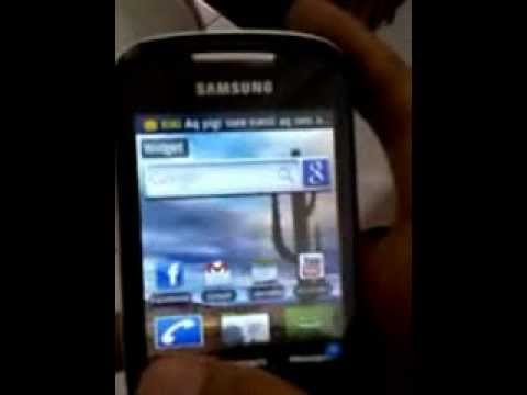 How To Install Android 2.2 In Samsung Corby 2 to.flv