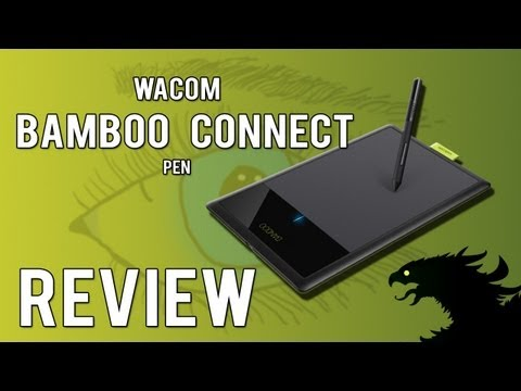 Wacom Bamboo Connect Pen Review.