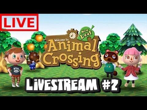 Animal Crossing New Leaf Livestream #2