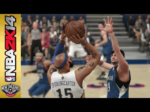 NBA 2K14 My Career Mode PS4 Playoffs SFG1 - Ricky Rubio Gets Put In A Clinic!