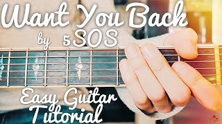 Download Lagu Want You Back 5 Seconds Of Summer Guitar Tutorial // Want You Back Guitar // Lesson #422 Gratis STAFABAND