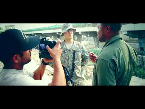 Behind The Scenes: Xzibit - Napalm (Shoots Music Video In Iraq & Visits The Troops)