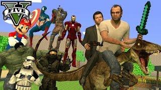 GTA 5 MODS! (GTA 5 Mods Gameplay) Chat and Actual Mod Gameplay