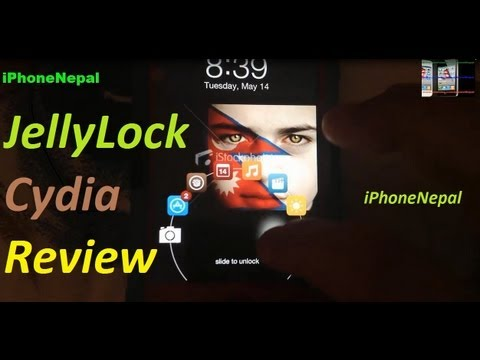 JellyLock Cydia Tweak For iPhone 5/4s/4/3Gs, iPod Touch, iPad Mini (Review and How To Get)