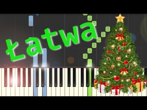 We Wish You A Merry Christmas - łatwa Synthesia (EASY)