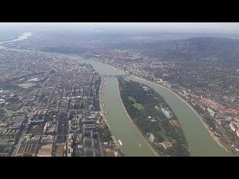 Landing at Budapest