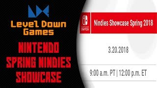 Nintendo Nindies Spring 2018 Showcase | Reactions